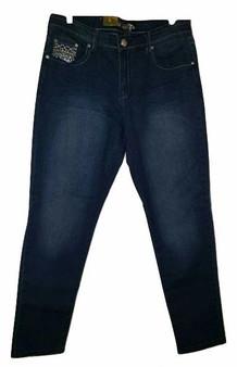 Diamond Stud Fade Blue Jeans