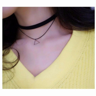 Black Diamond Velvet Choker