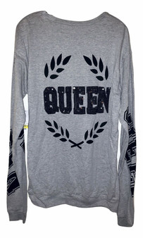 Gray Queen Long Sleeve