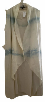 Beige Denim Long Cold Cover