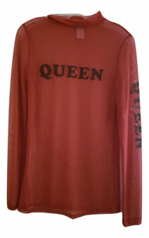 Rust Queen Mesh Shirt