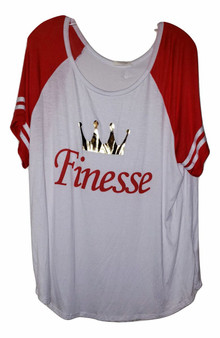 White Finesse Scoop Top