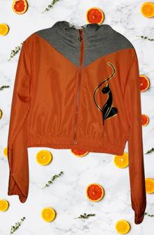Baby Phat Orange Gray Wind