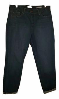 Blue Wash Cuff Jeans