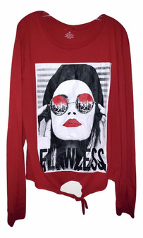 Red Girl FlawLess Long Sleeve