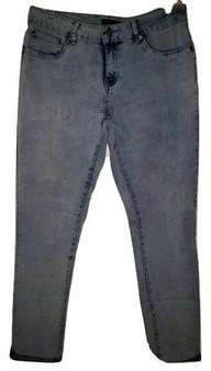 Sky Blue Cuff Jeans