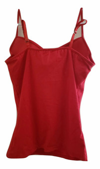 Red Bra Cup Cami