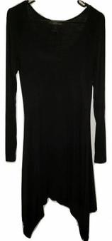 Black Swanky Long Sleeve Dress