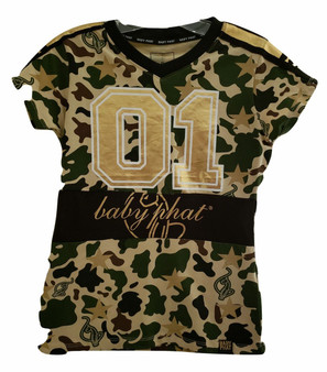 Baby Phat Olive Jersey
