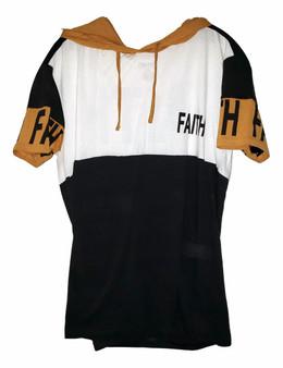 Black & Gold Faith Hoodie