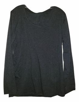 Charcoal Long Sleeve Shirt