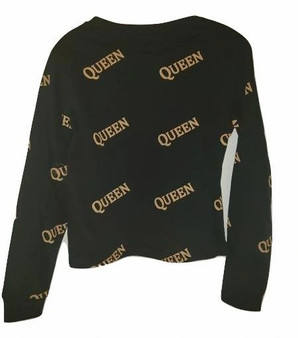 Black Gold Queen Long Sleeve