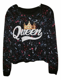 Black Long Sleeve Queen