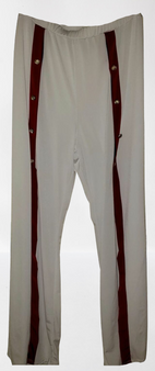 White Popper Wide Side Stripe