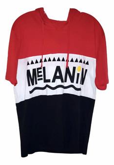 Red Black White Melanin Hood