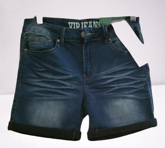 Dark Blue Butt Shorts