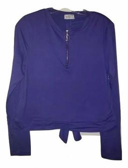 Ultra Purple Zipper Tie Up