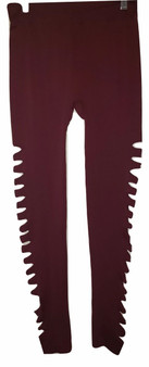Wine Side Cut Legging