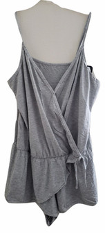 gray jumper, womens jumper, romper