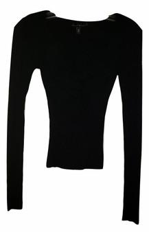junior black sweater, long sleeve sweater
