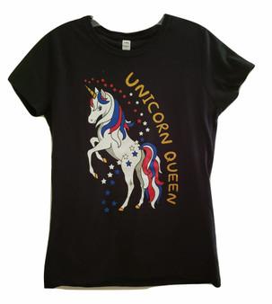 Black Unicorn Queen Tee