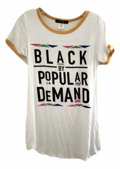 White Yellow Black By Popular Demand