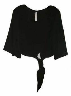 Black Tie Waist Top