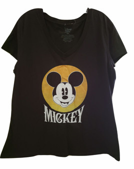 Black Mickey Top