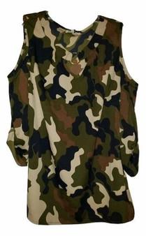 Camouflage Shoulder Out
