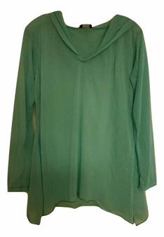Mint Green Sheer Hoodie