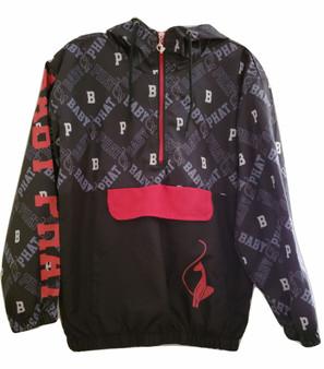 Baby Phat Black Red White Zip Jacket