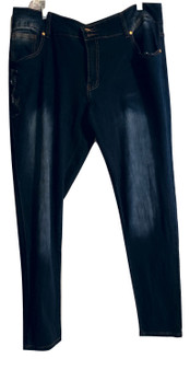 Baby Phat Dark Blue Jeans