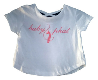 Baby Phat White Cage Top