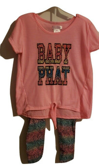 Baby Phat Animal Print Set
