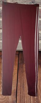 Red White Stripe Leggings