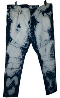 Blue Sky Washed Skinny Jeans