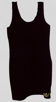 Black Sleeveless Body Con Dress