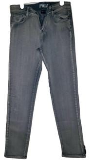 Lite Blue Wisker Cuff Jeans