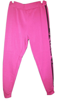 Dereon Black & Pink Joggers