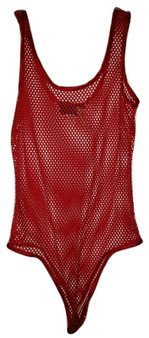 Red Net Body Suit
