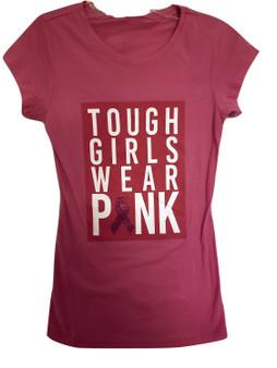 Pink Tough Girls Wear Pink