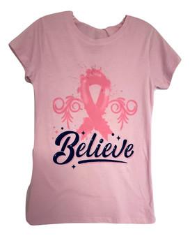 Pink Believe Top