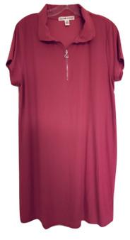 Pink Zip Dress