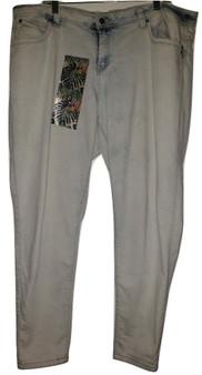 Malibu Blue Whisker Skinny Jeans