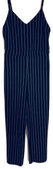 Black White Pin Striped Jumper