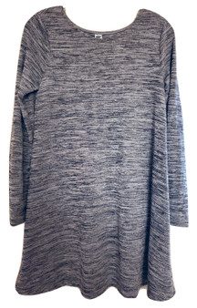 Gray Baby Doll Top