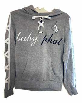 Baby Phat Gray White Active Wear 2PC Set