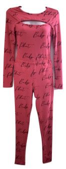 Baby Phat Pink Black 2PC Set