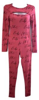 Baby Phat Pink Black 2PC Set