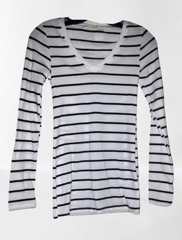 White Black Stripe
